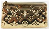LOUIS VUITTON LIMITED ED. GOLD MONOGRAM MIROIR COSMETIC POUCH